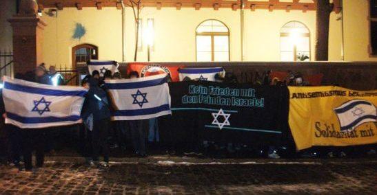 Protest gegen das MPI – Kein Forum für Finkelstein