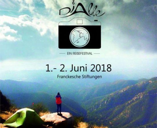 Reisen ist tödlich für Vorurteile – die DIAlle, ein Reisefestival vom 01.06 – 02.06