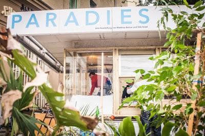 Paradies in Halle vermessen und beschallen