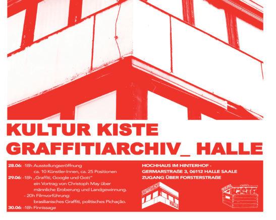Ein Archiv für Graffiti in Halle