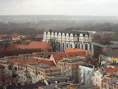 Plattenbau am Domplatz
