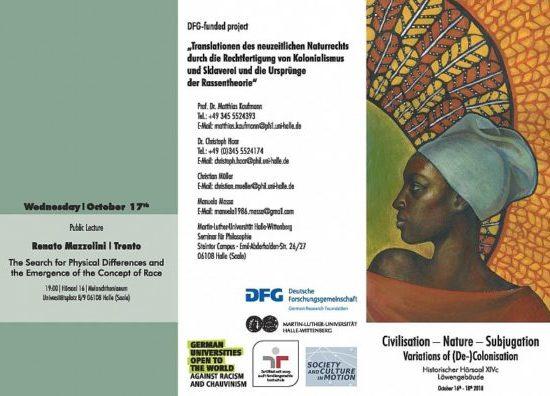 """""""Variations of (De-)Colonisation"""" – eine Tagung an der Uni Halle"""