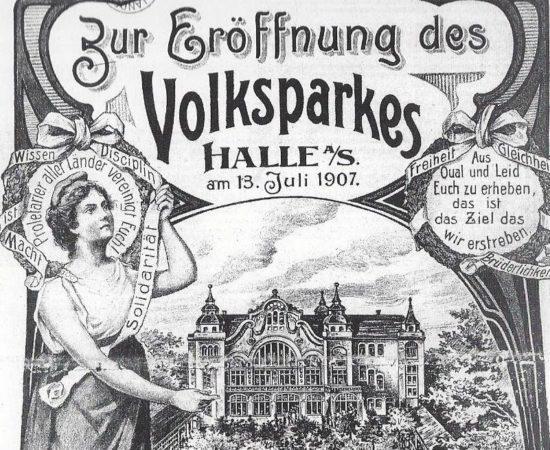 Zur Geschichte des Volksparks