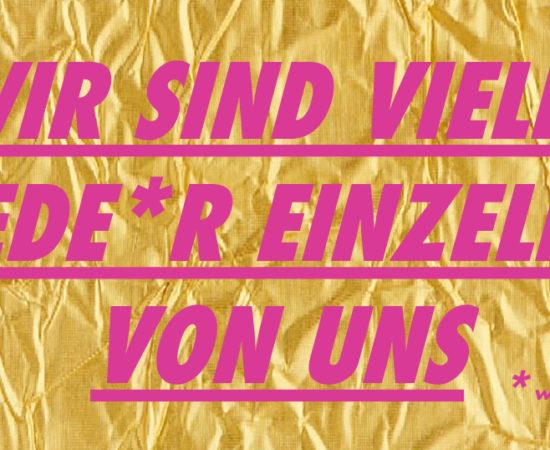 """""""Erklärung der Vielen"""" in Halle"""