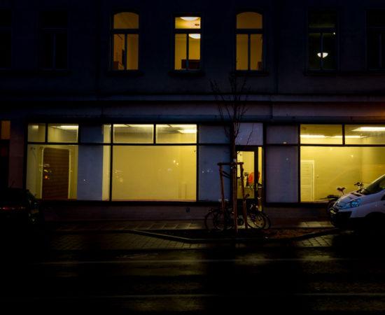 BLECH. Ein neuer Raum für Kunst in Halle