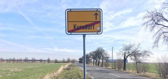 Kursdorf – Ein verlassenes Flughafendorf