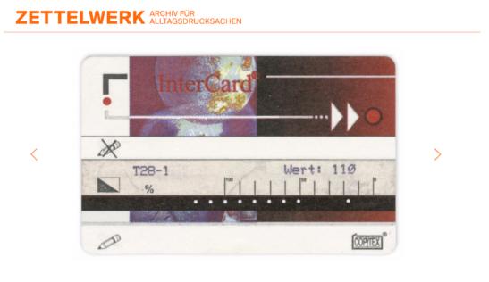 Das Zettelwerk – Ein Archiv für Alltagsdrucksachen
