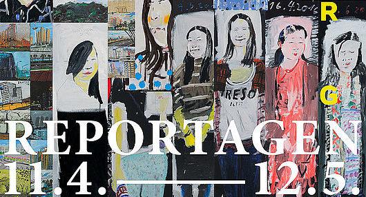 """Ausstellung """"Reportagen"""" in der Galerie im Volkspark"""