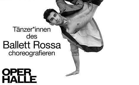 """Tänzer*innen choreografieren. """"Choreografische Werkstatt"""" des Ballett Halle"""