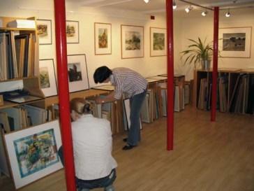 Kunst ausleihen. Die Artothek in Halle