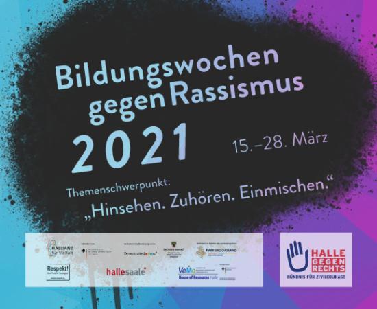 Bildungswochen gegen Rassismus 2021