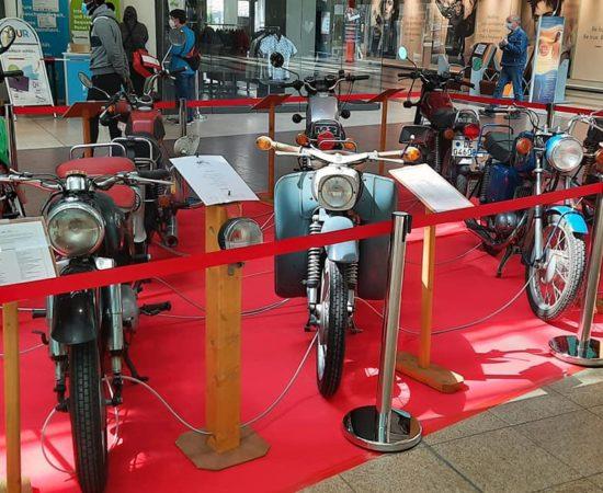 Legenden des Ostens – Ausstellung zu Motorräder und Mopeds